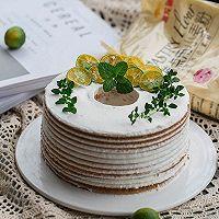 基础款木糖醇咸酸奶油蛋糕(抹面手残星人友好)的做法图解17