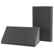 Bass Trap AcousPanel Line Studio Pro. Set Bass Trap of 2 pieces of 60x37x26 cm. Anthracite gray Color.