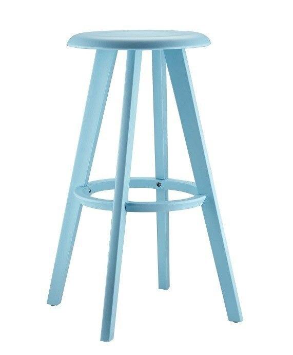 Stool CEASE, Polypropylene Blue