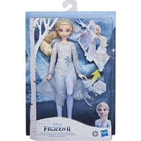 Hasbro Frozen 2 Elsa and Pabbie Troll In Travel Outfit Inspired Fashion Doll Toys for Girls Gift