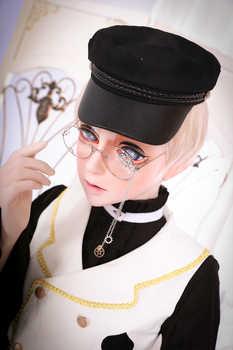 (HD02)HIDOLLS×DMS Resin Half Head Female/Male Face Cosplay Kigurumi Crossdress Japanese Role Lolita BJD Mask Crossdresser DOLL