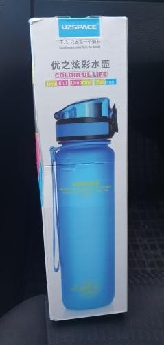 Explosion Sports Water Bottles 500ML 1L Protein Shaker Outdoor Travel Portable Leakproof Tritan plastic My Drink Bottle BPA Free-in Water Bottles from Home & Garden on AliExpress - 11.11_Double 11_Singles' Day