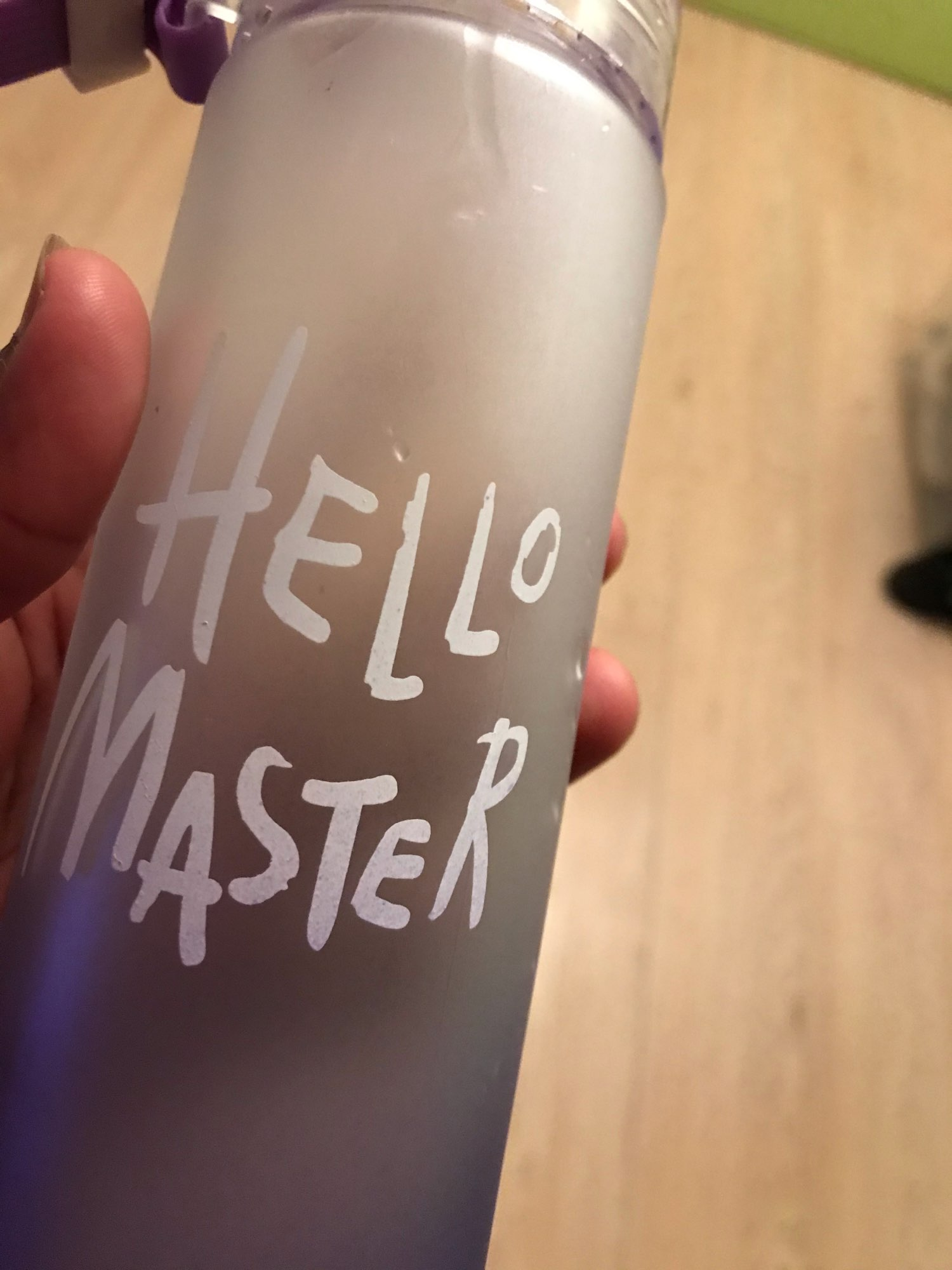 Hello Master Sports Water Bottle photo review
