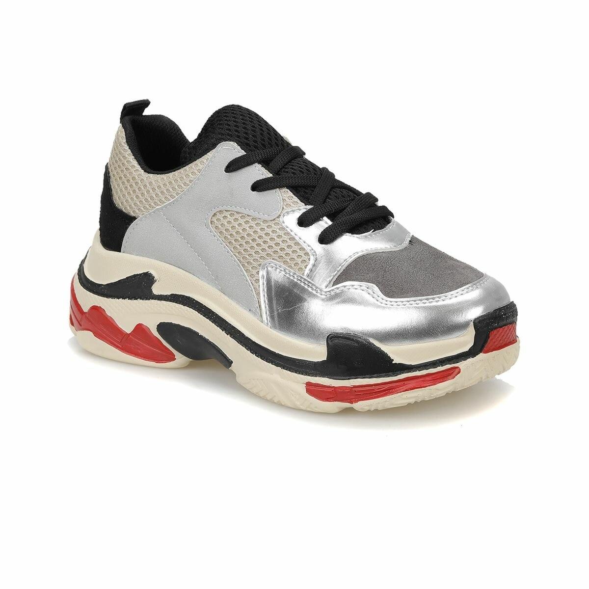 FLO 18K-821 Silver Women 'S Sports Shoes BUTIGO