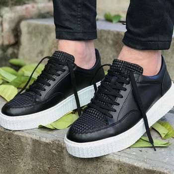цена на Chekich CH017 IT Men 'S Shoes BLACK. 100 Vegan 100 Cotton Shoe sneaker air van chaussure loafer trainer uomo money footwear