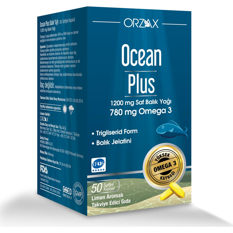 Orzax Ocean Plus كبسولات أوميغا 3 ، 1200 مجم ، 50 كبسولة ، زيت السمك ، 780 مجم ، أوميغا 3 ، جيلاتين الأسماك ، طعام مقوى ، EPA/DHA    - AliExpress