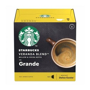 Veranda Blend big Starbucks®, Dolce Gusto compatible 12 services