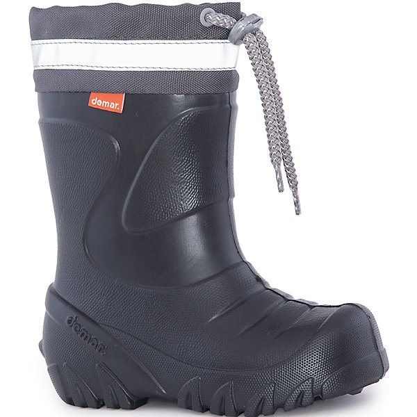 Rubber boots with removable toe Demar Mammut-S MTpromo trendy women s short boots with chunky heel and tassels design