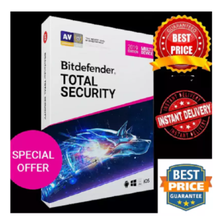 Total-Security Bitdefender Days-6-Months 5-Devices 180