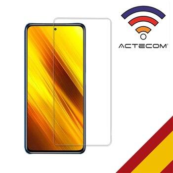 ACTECOM PROTECTOR PANTALLA PARA Xiaomi Poco X3 NFC CRISTAL VIDRIO TEMPLADO Poco X3 NFC, Protector POCO X3 NFC, Poco 3XNFC