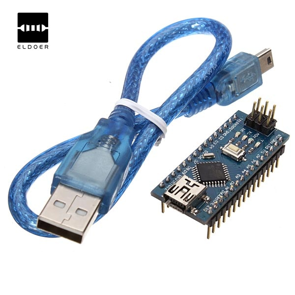 New 1PC 5V ATmega328P Compatible V3 Improved Version With USB Cable For Arduino For Nano Module Modules