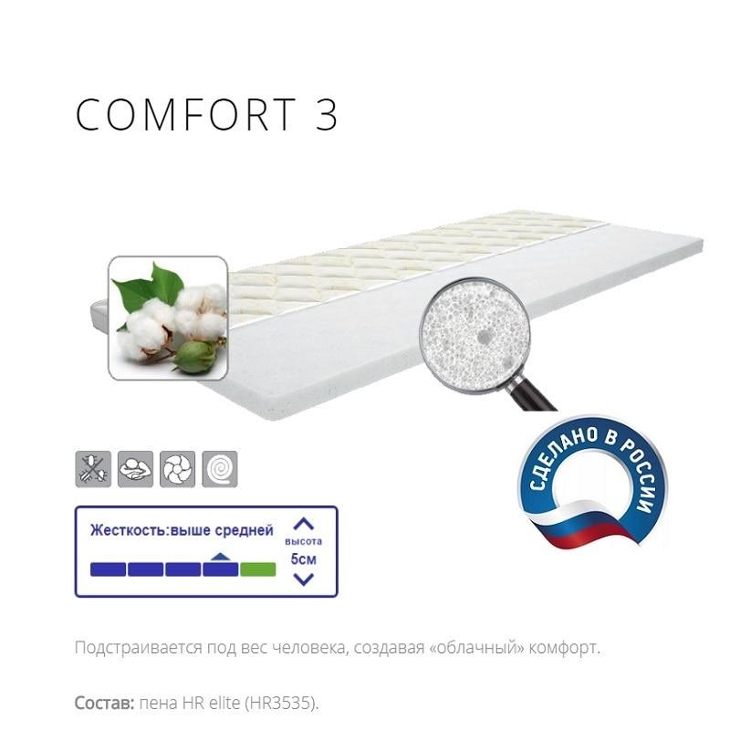 Mattress диванный Topper IQ Sleep Comfort3, Height = 5 Cm... Delicatex Bedroom Furniture For Living Room, On The Bed Sofa