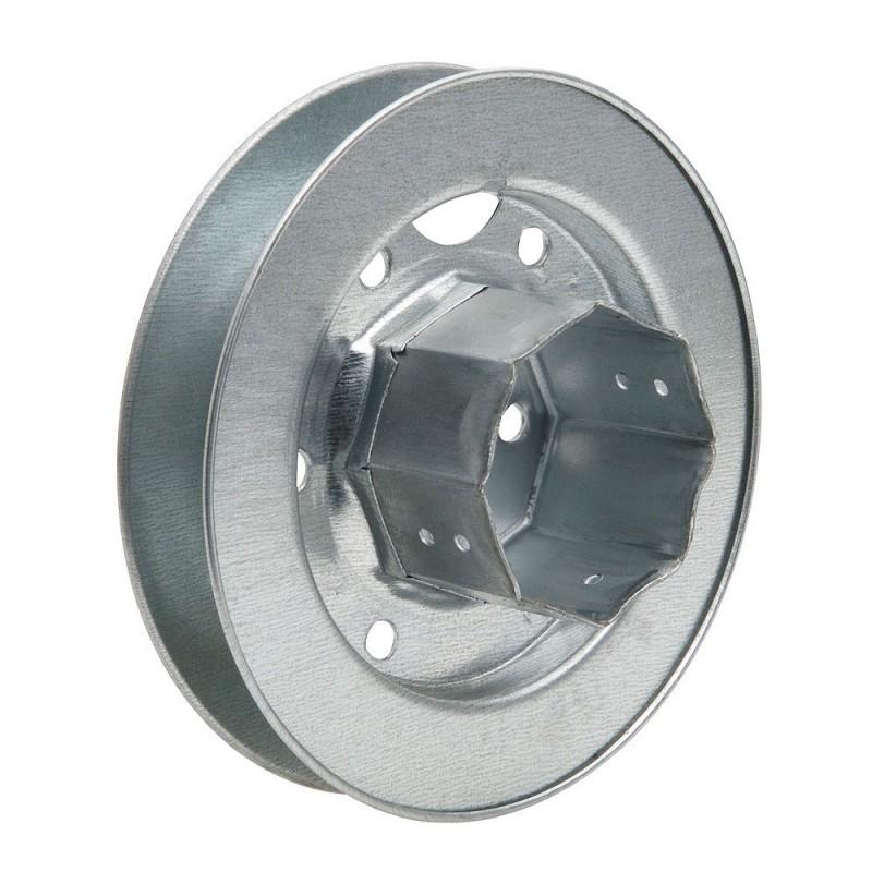 Disk Roller Shutter Metal Tang Metal 150x60 Ribbon 22mm.