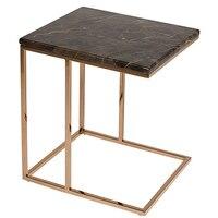 طاولة جانبية الرخام (45X40x50 cm) على