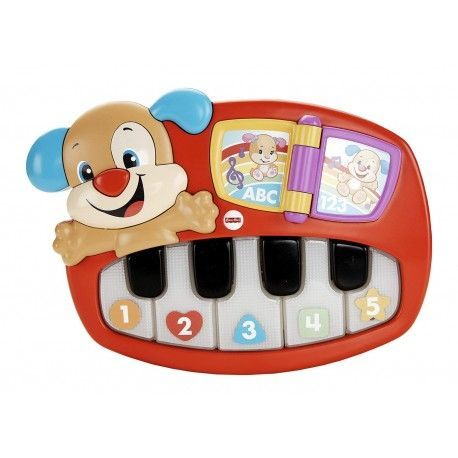 Fisher Price Piano Puppy For Learning