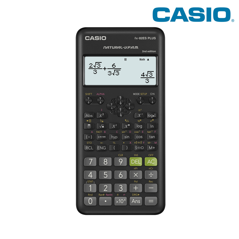 Scientific calculator Casio fx-82esplus-2 not programmable is allowed for exams EGE 252 function