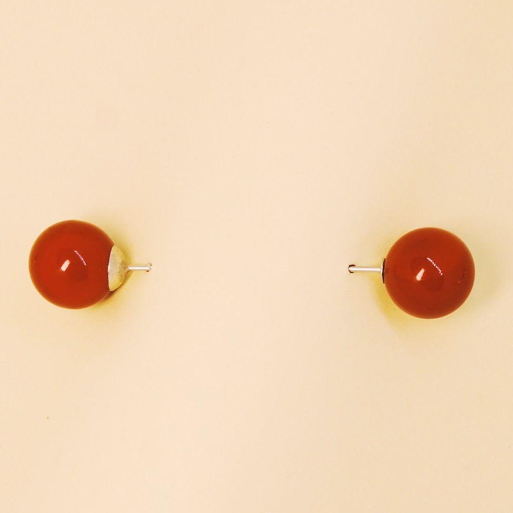 Shirt Collar Strap Red Pea (52364)