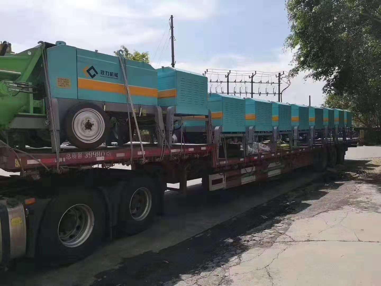 耿力機械出口印尼,助力雅萬高鐵建設!