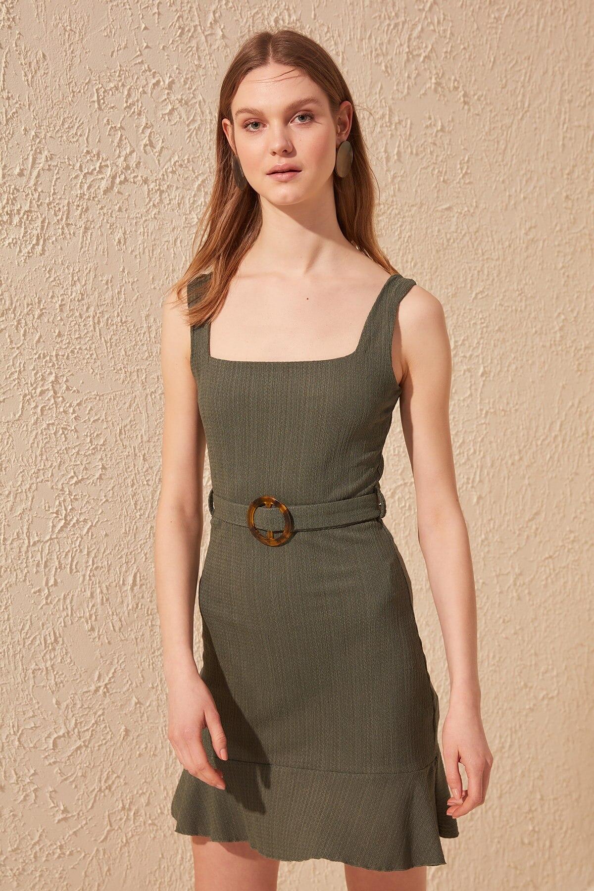 Trendyol Arched Knit Dress TWOSS20EL0708