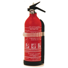 Car fire extinguisher 1 kg fire extinguisher home and ship powder ABC efficacy 5A-34B-C with gauge and stand marked and manufactured CE