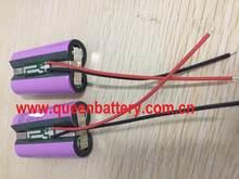 Głośniki Robot lampy akumulator litowo-jonowy 18650 35e mj1 ga 7000mAh 1S2P 3.6v 3.7v 4.2v z 3mos PCB/PCM( 5A) z 22AWG