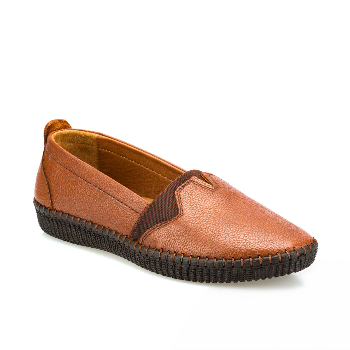 FLO 103020.Z Tan Women 'S Shoes Polaris 5 Point