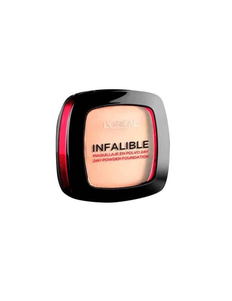 LOREAL MAQUILLAJE INFALIBLE COMPACT 24H Maquillaje|Base de maquillaje| - AliExpress