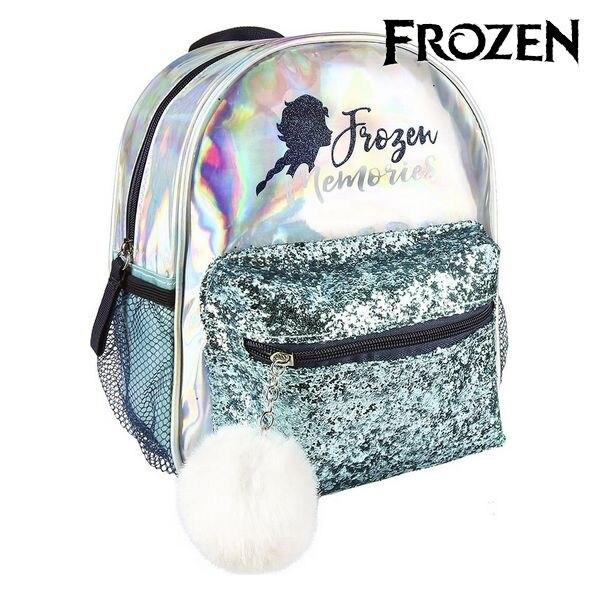 Casual Backpack Frozen 72685 Light Blue Metallic