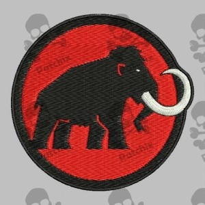 MAMMUT Iron patch Toppa ricamata gestickter patch brode remendo bordado parche bordado