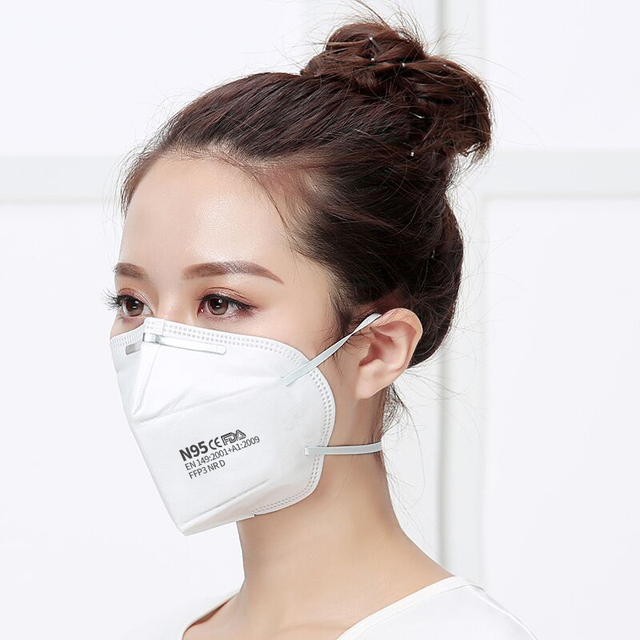 Italiano 800pcs face masks 5 Layers FFP3 N95 Mask Particulate Mouth Mask Filter masks fast Europe delivery 4