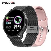 DAROBO SE01 hommes Sport montre intelligente IP68 tension artérielle oxygène sanguin moniteur de fréquence cardiaque musique météo prévisions femmes Smartwatch