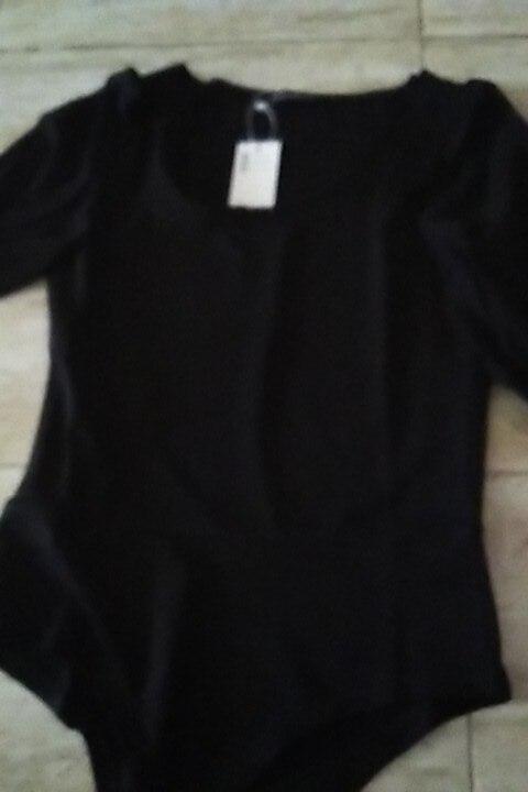 Sexy One Piece Bodysuits Women Summer Short Puff Sleeve Chiffon Shirt Bodysuit Elegant Bodycon Ladies T Shirt Tops photo review