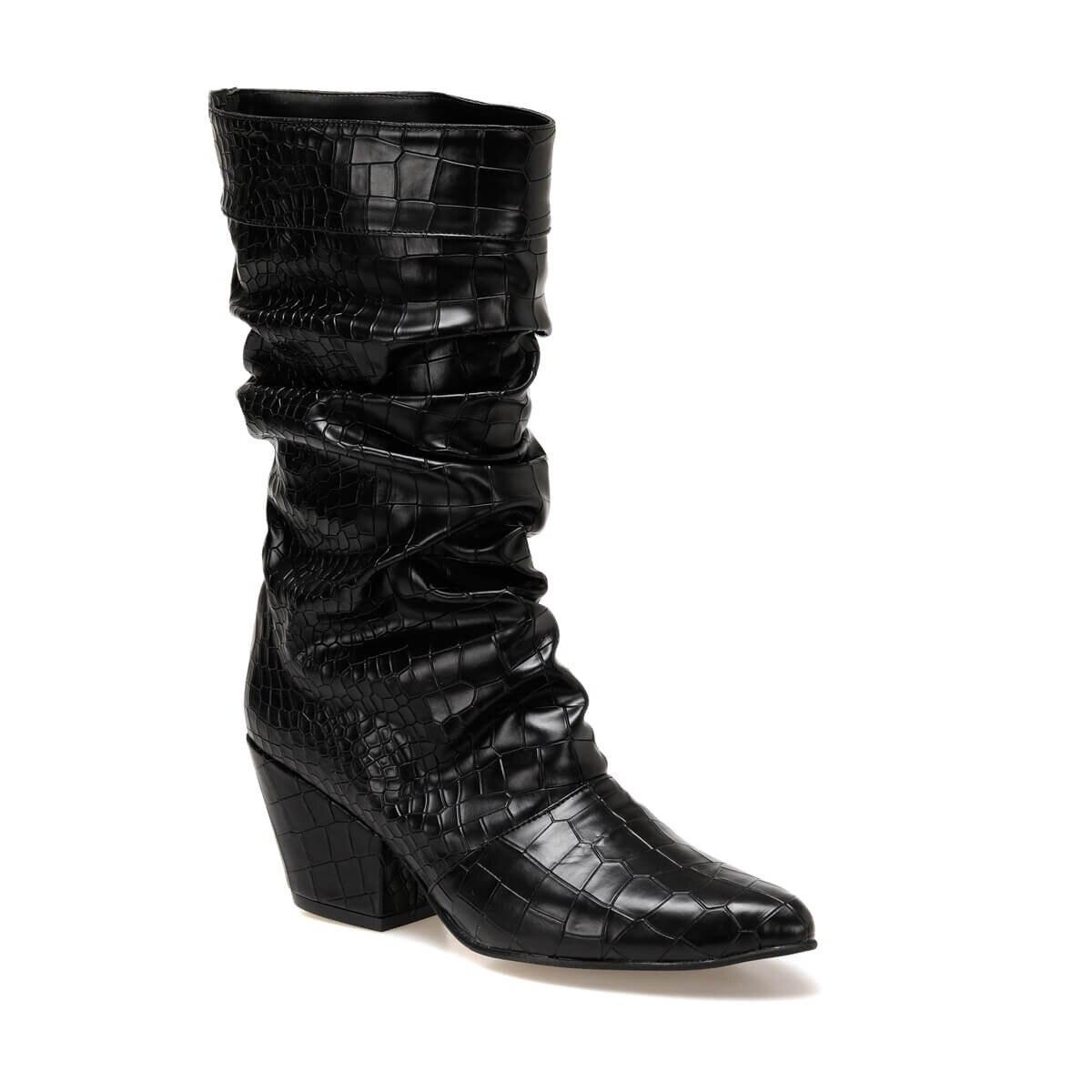 FLO TARASSA Black Women Boots BUTIGO