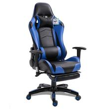Ergonomic Reclining Racing Chair With Armrest Comfortable Executive Computer Chair Revolving Gaming Recliner