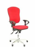 Cadeira ergonómica do escritório com mecanismo synchro  braços ajustáveis-encosto e rede estofada da tela do assento. P
