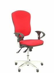 Ergonomiczne krzesło biurowe z mechanizmem synchro  regulowane oparcie ramion i tkanina na siedzenie tapicerowana sieć. P