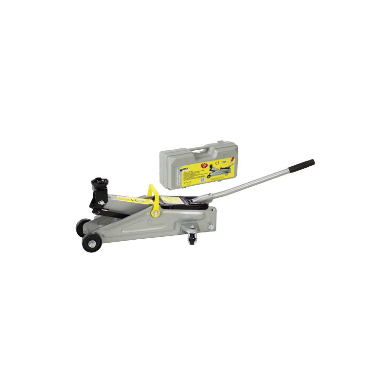 Hydraulic Jack Maurer With Wheels 2000Kg. With Briefcase