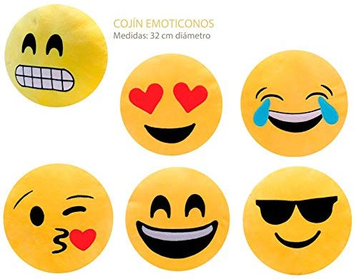 Cushion Emoticon Big Regulatory PVC Gift Faces Happy For Children :-) Details And Holy Communion Gifts, Birthday