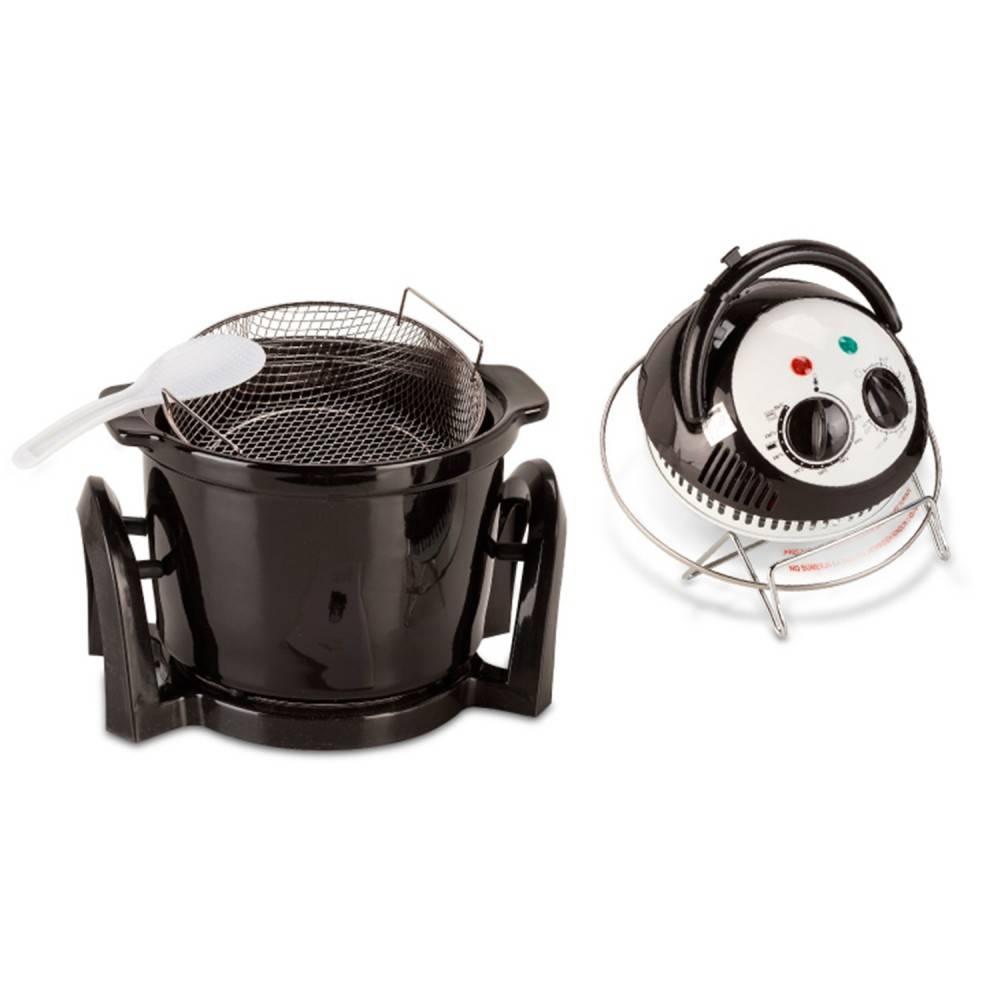 Four poêle diététique 5L. Système de convection d'air chaud. Frites et cuisson avec un seul produit et huile poco - 3