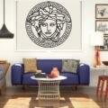 Металлическое настенное искусство  искусство медузы  Металлический Настенный декор  украшение для дома и офиса  декор для спальни  греческо...