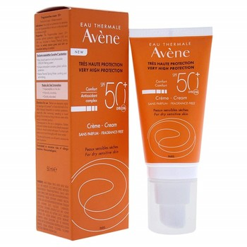 AVENE sun cream very high protection FPS 50 + no Perfume sensitive dry skin 50 ml