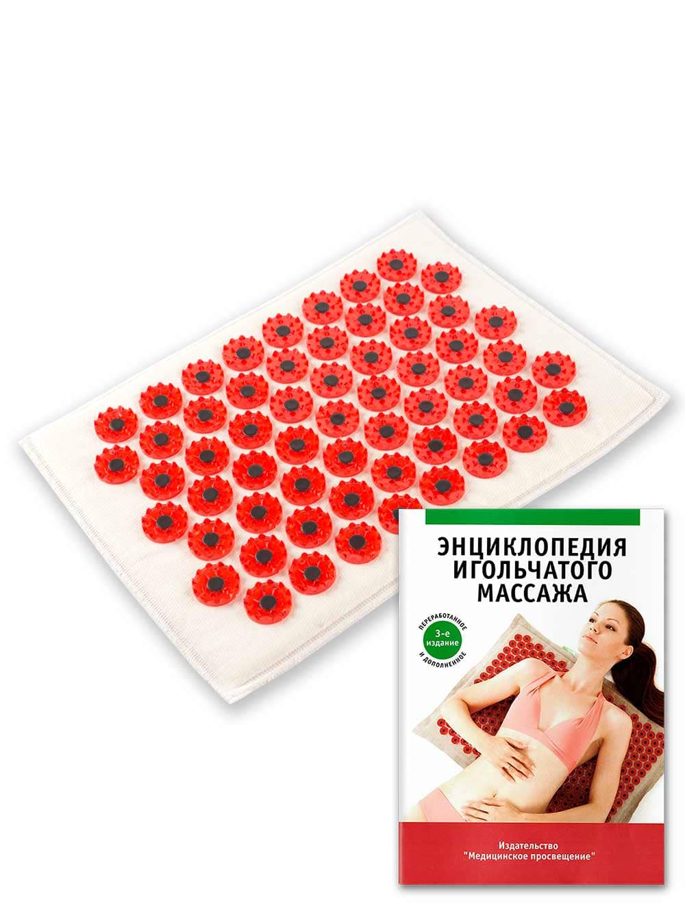Фото - Acupuncture Mat Yoga Relaxation Massage Applicator Kuznetsova Massager Health Products МА09 yoga mat