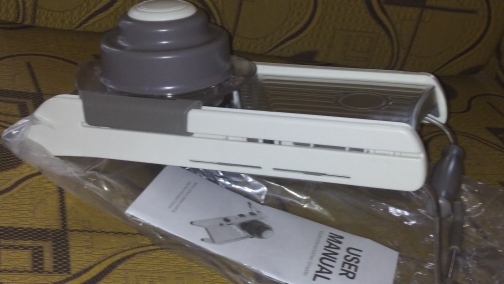 Manual Multifunction Mandoline Slicer
