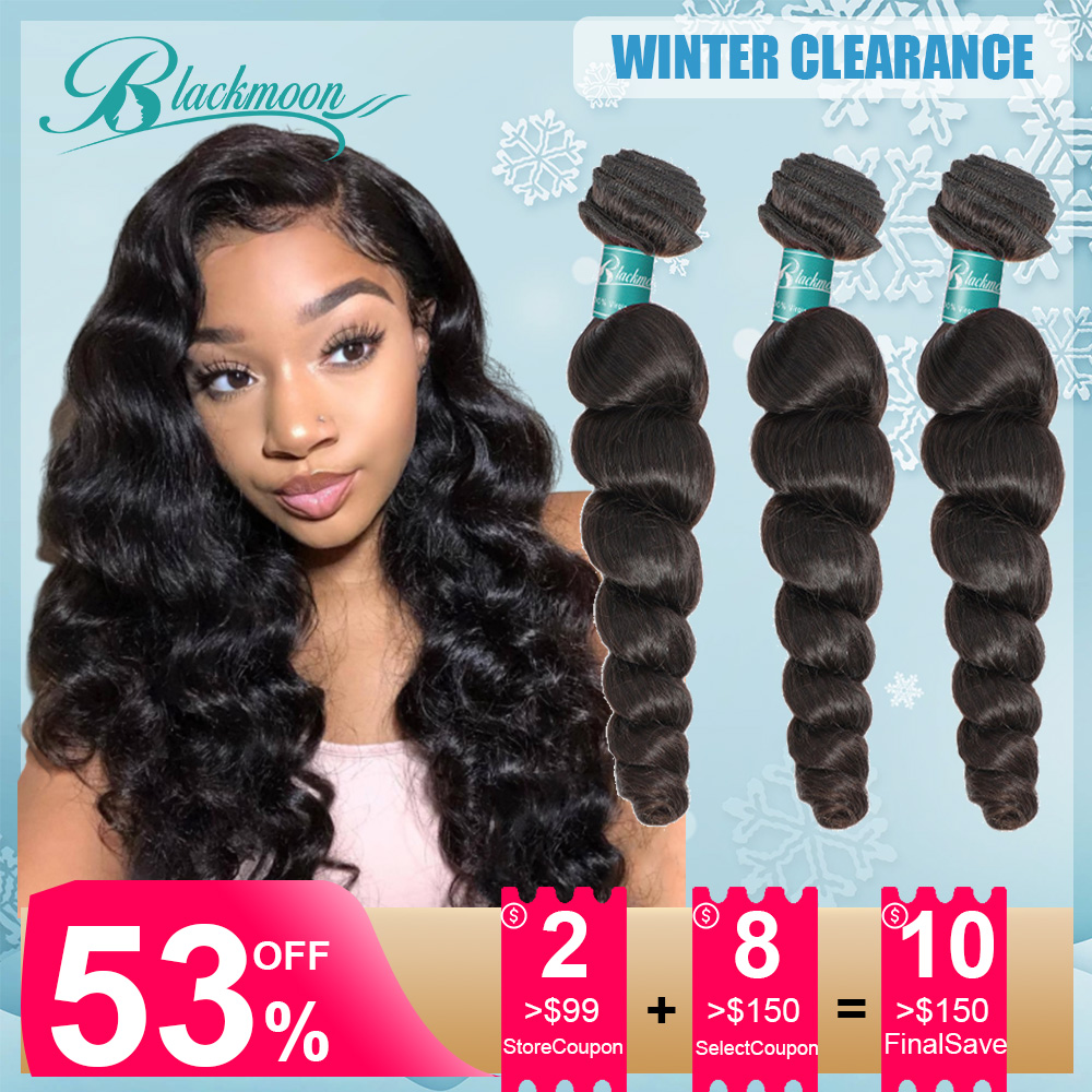 Loose Wave Bundles Human Hair Bundles Brazlian 3 Bundles Loose Weave Bundles Hair 8 24 26 Inch Weave Bundles Hair Tissage