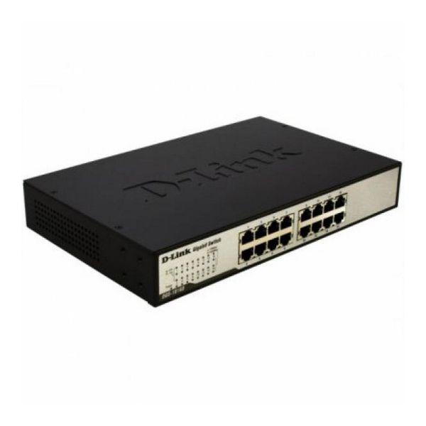 Switch D-Link DGS-1016D 16 P 10 / 100 / 1000 Mbps