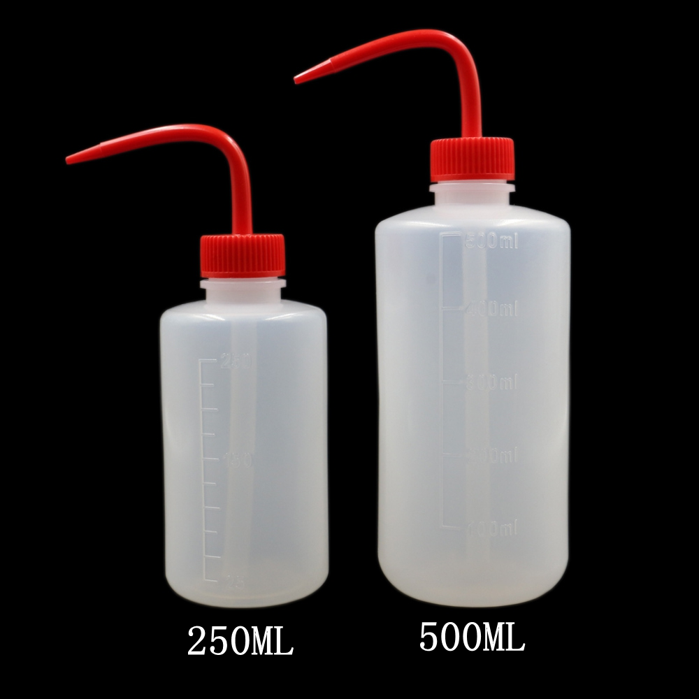 Tattoo Bottle Diffuser Squeeze Bottle Green Soap Supply Red Wash Tattoo Bottle Lab Non-Spray Permanent Makeup Tattoo Accessories