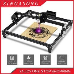 CNC Laser Gravur Maschine 2500MW 5,5 W 30*40cm 2 Achse DIY Kupferstecher Desktop Holz Router/cutter/Drucker + Laser Brille