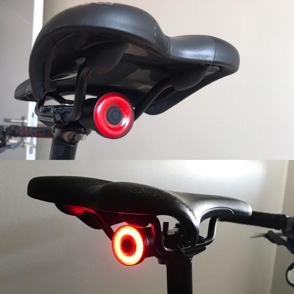 Luz de bicicleta Taillight Taillight Carregamento