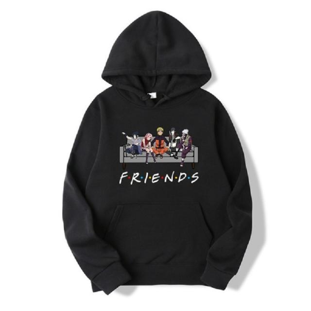 FUNNY FRIENDS NARUTO STYLE HOODIE (6 VARIAN)