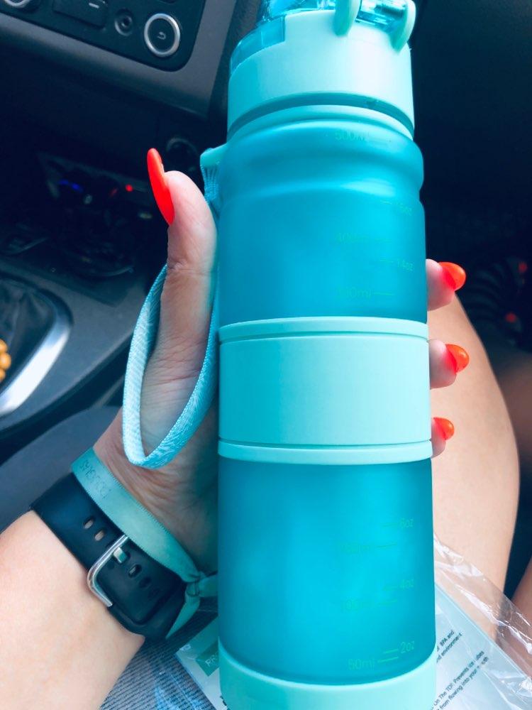 Sport Water Bottles Protein Shaker Portable Motion Leakproof Drinkware My Drink Bottle BPA Free Outdoor Travel Camping Hiking Water Bottles    - AliExpress